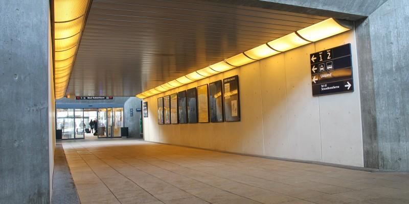 DAMPA Robust Panels at Nyborg train station