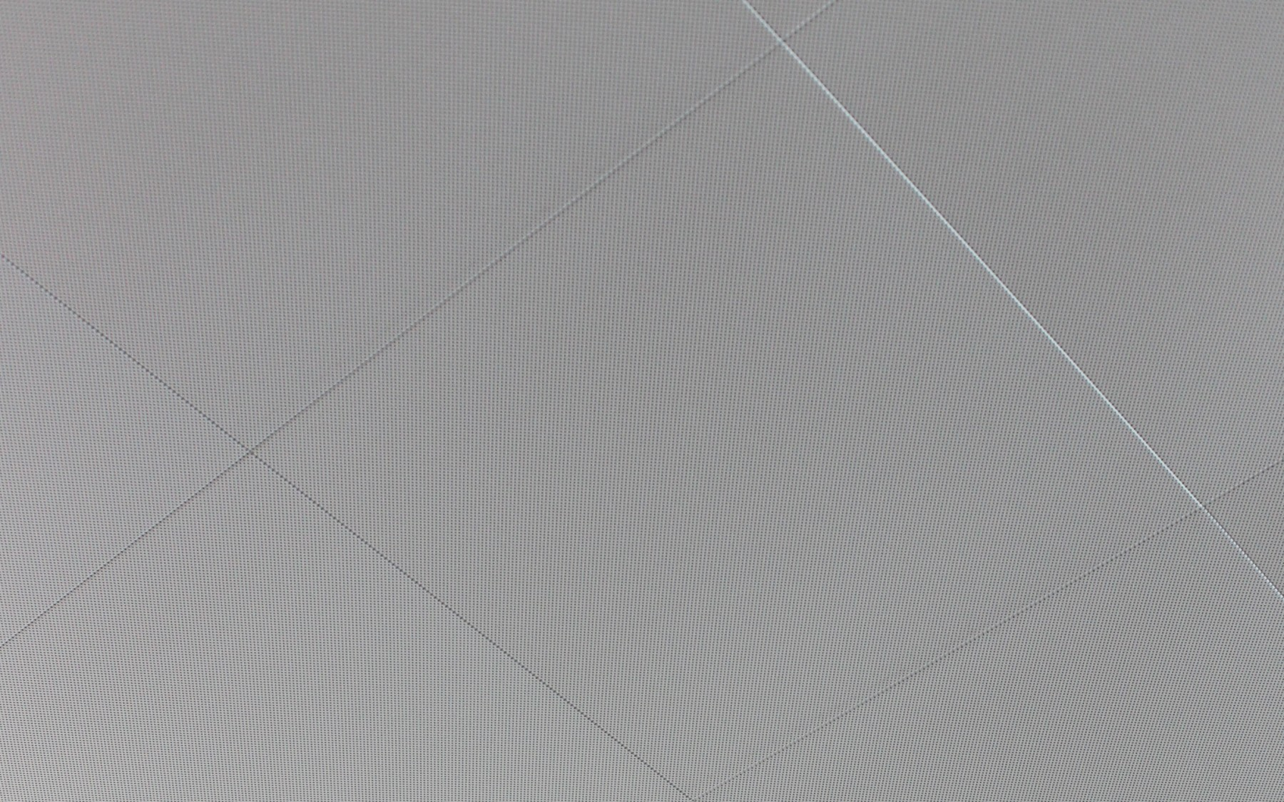 DAMPA tiles, sharp edge, perforation exceeding the edge of the tile.