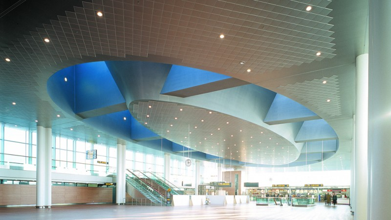 Clip-In Tiels, Copenhagen, CPH Airport Dome