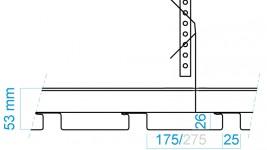 Konstruktionshøjde, DAMPA 20/30 Panel