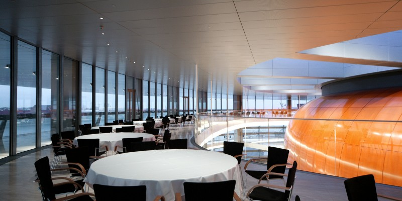 DAMPA Panles. Restaurant environment Copenhagen Opera
