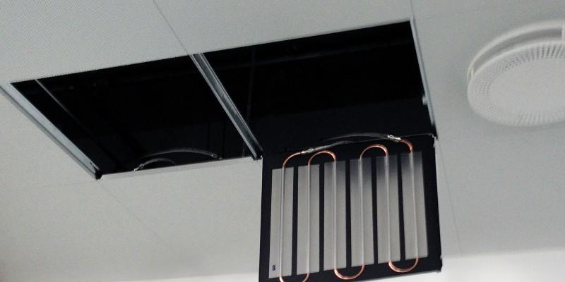 DAMPA Klimakassette, Interior Climate Tile at Viborg Hospital