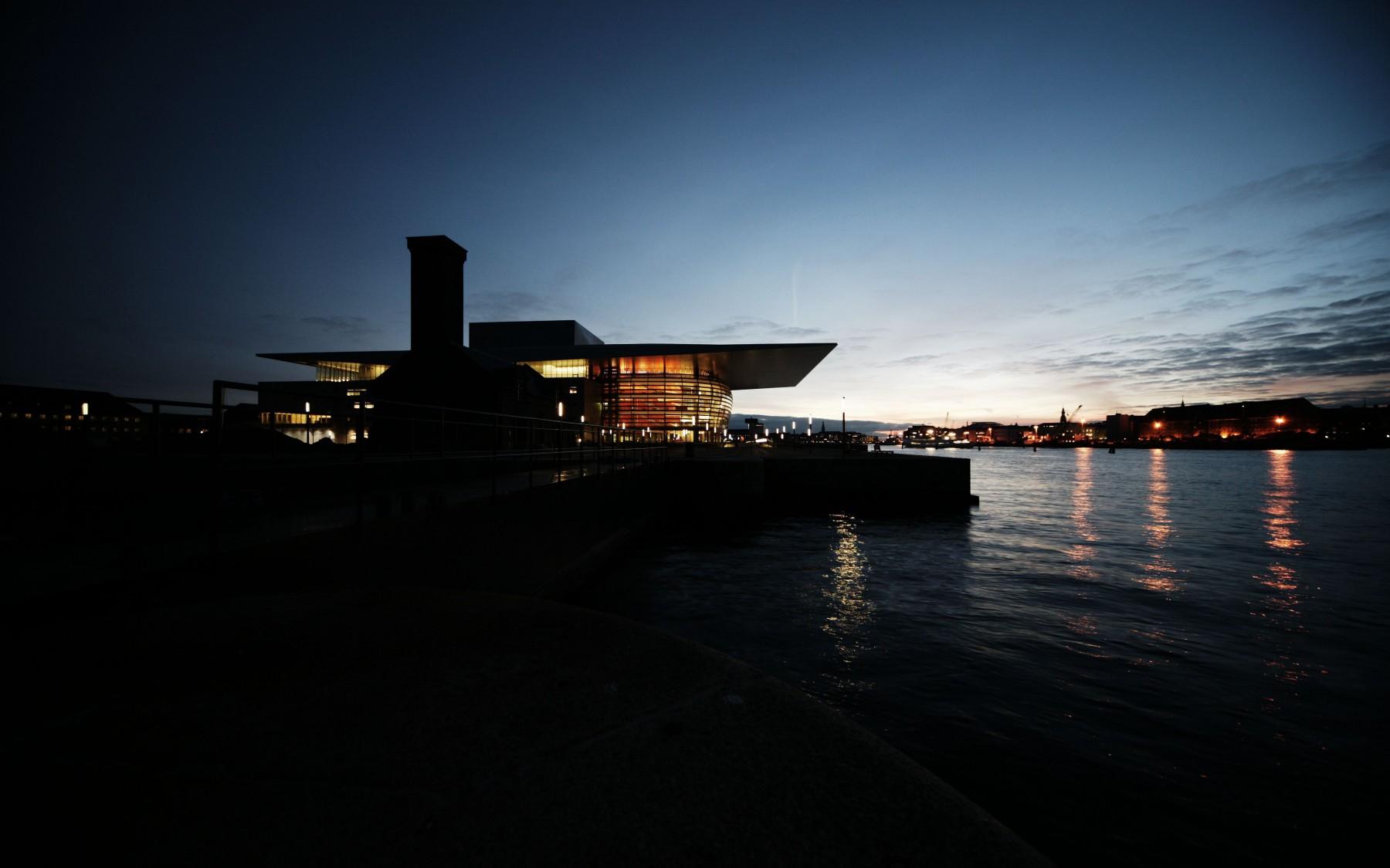 Sustainable build, CPH Opera house.