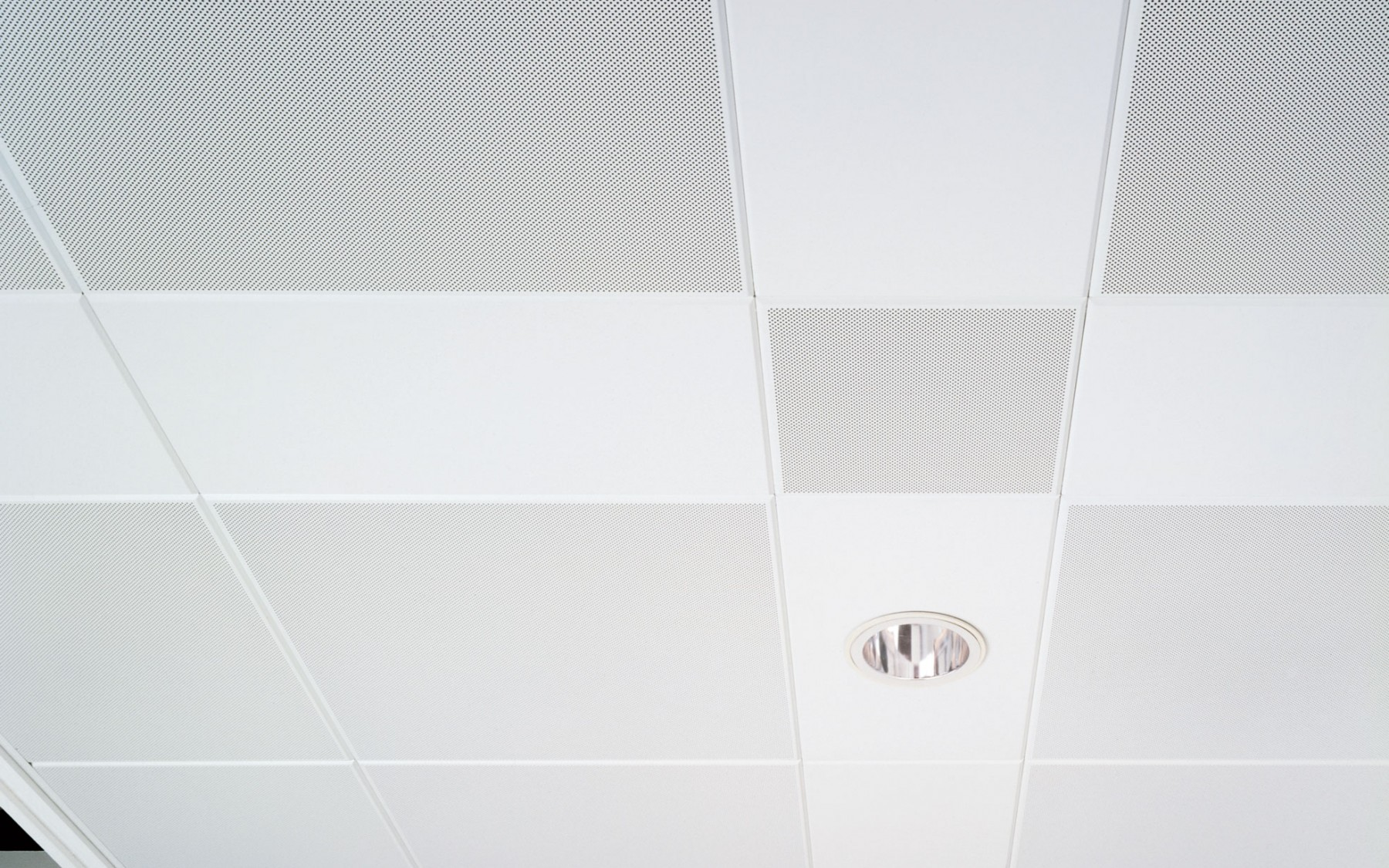DAMPA Clip-In Tiles with bevelled edge and Light fittings