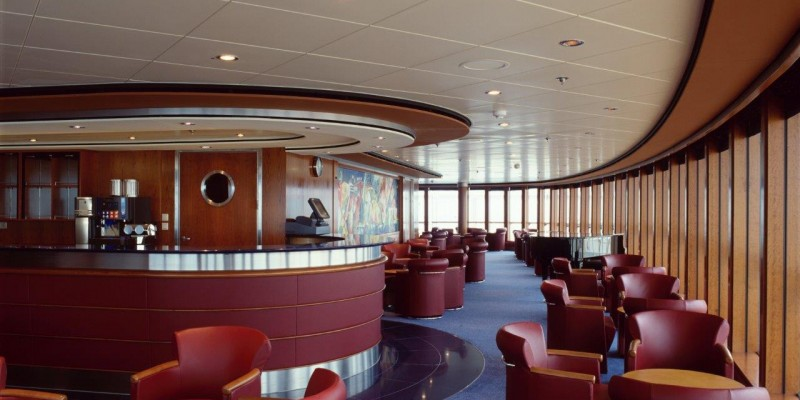 Cruise Ship, Tiles for public areas