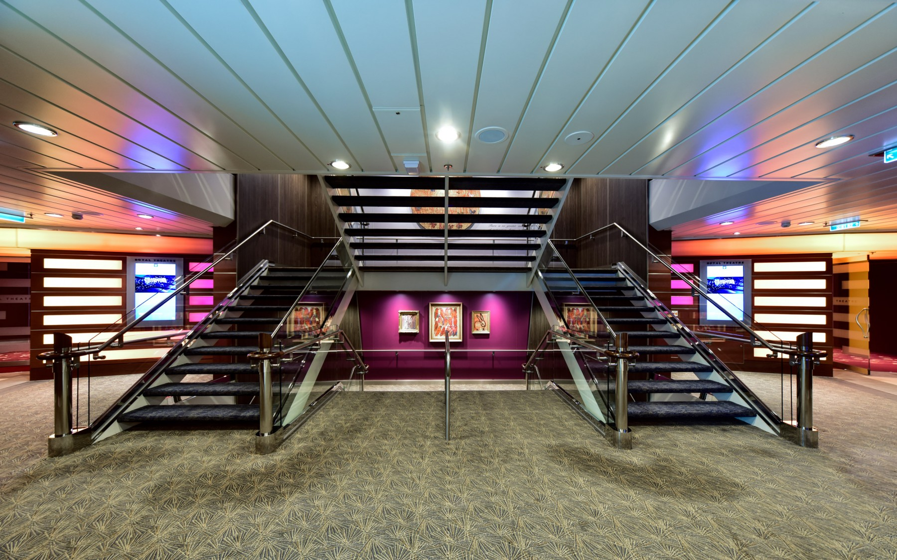 100 Best Corridors Stairs Lighting Images By John: Royal Carribean Cruise Line
