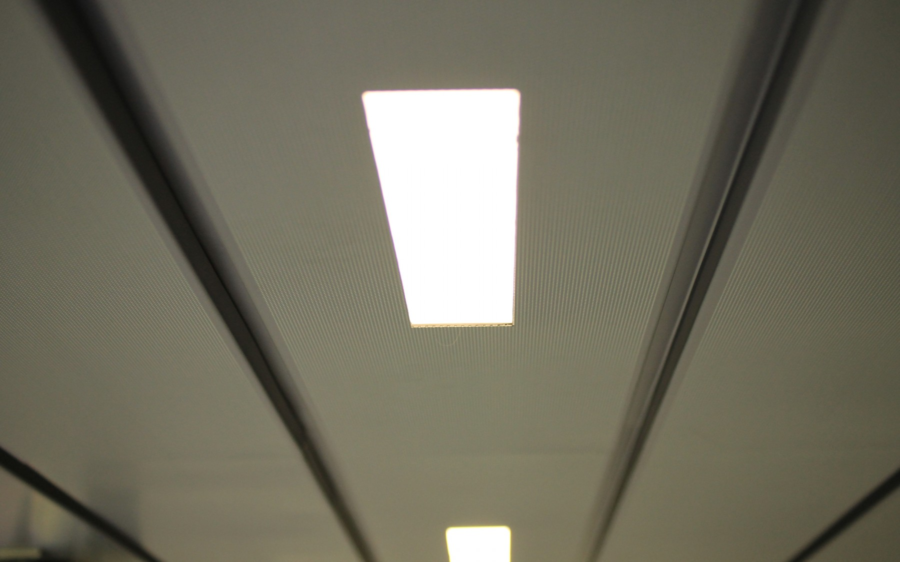 Integrated light fittings