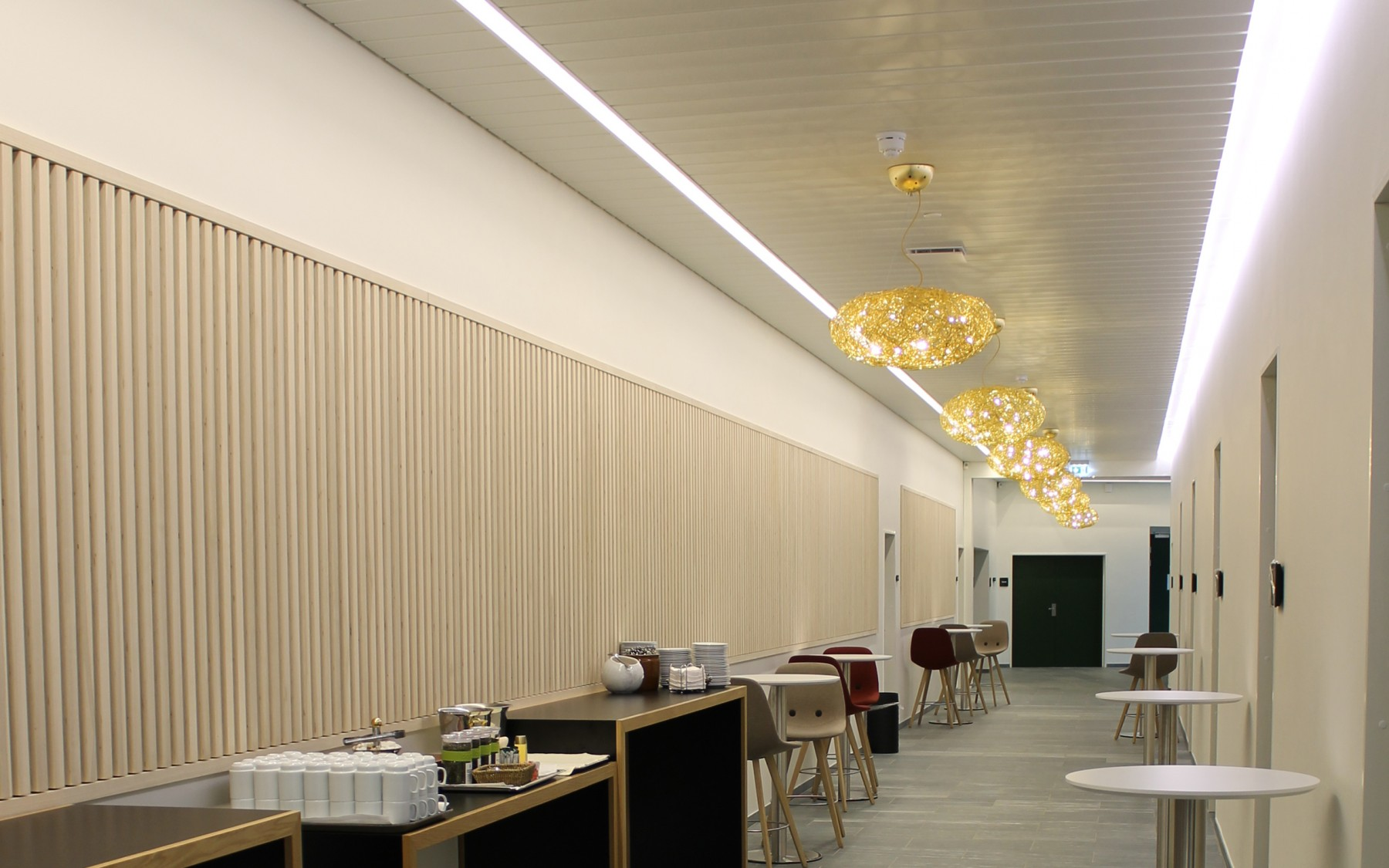 Glostrup Park hotel, D-200 Panel, lys integration