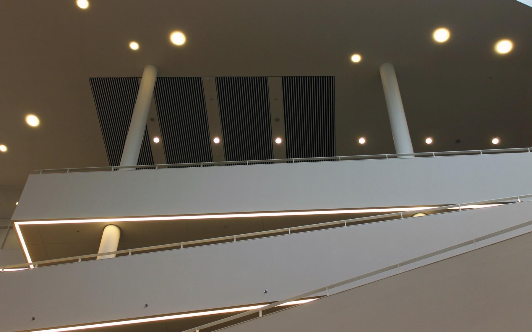 Viborg Raadhus. Interval, åbent loft